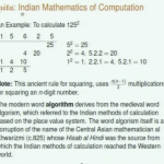 An Indic Perspective to Mathematics — 2